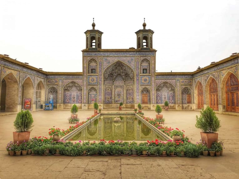 Nasir al-Mulk Mosque in Shiraz, Fars Province