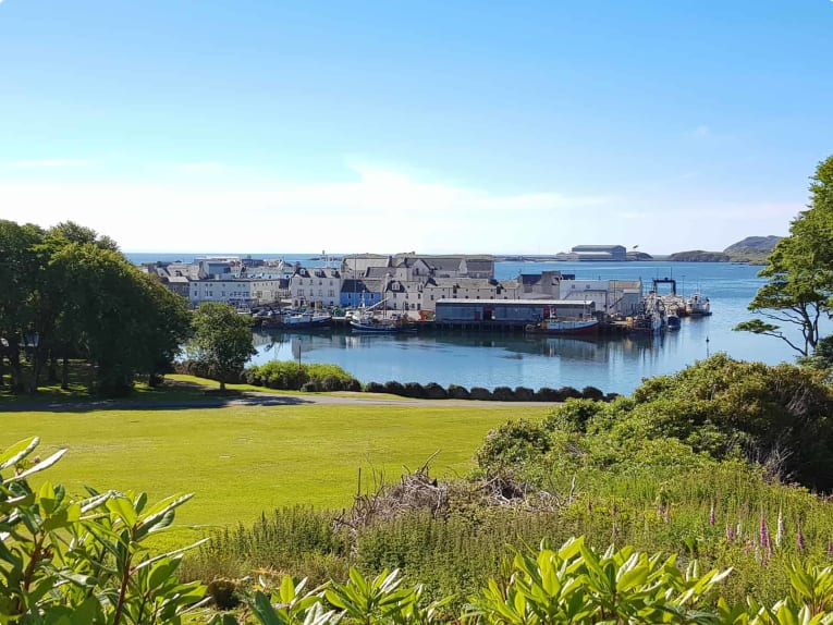 Stornoway in Lewis Outer Hebrides