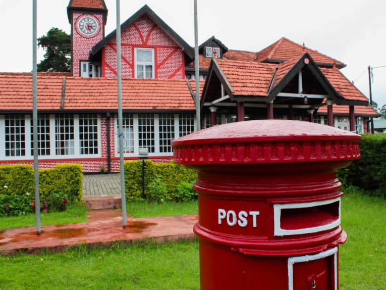 Nuwara Eliya post office in Sri Lanka