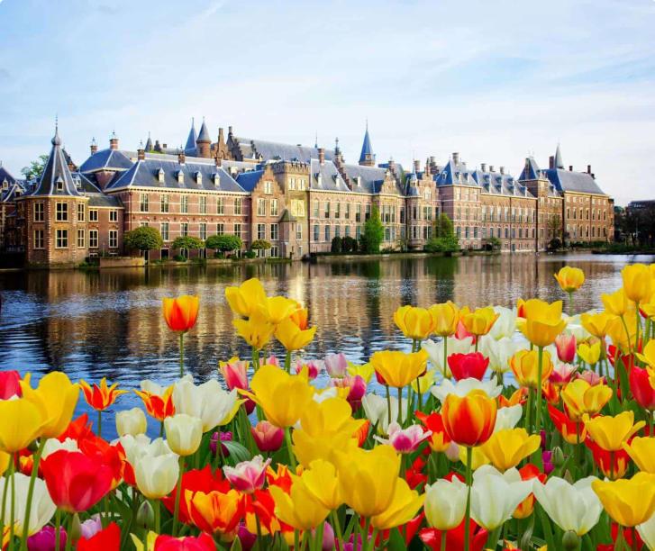 Dutch Parliament in The Hague Netherlands