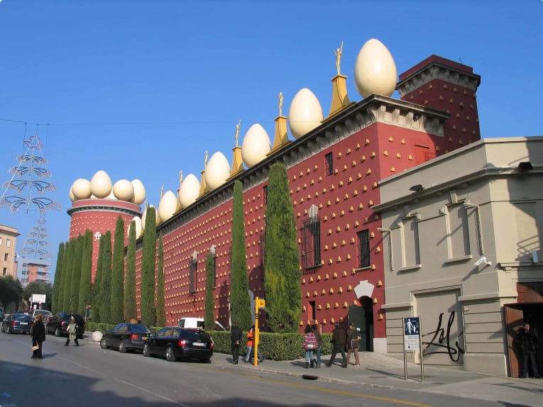 Dali Museum and Theatre in Figueres, Spain