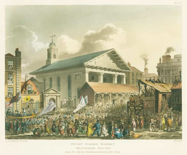 Covent Garden - early 19th century