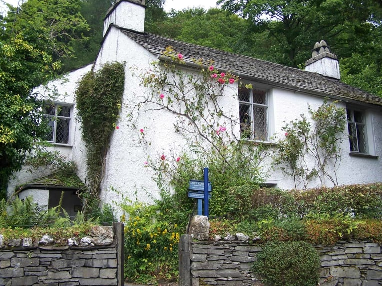 Dove Cottage, the home of Wordsworth