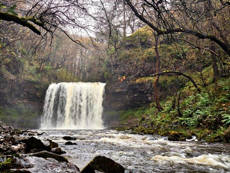 Sgwd yr Eira Waterfall Brecon Beacons National Park