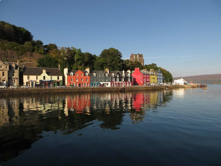 Tobermory, the capital of Mull