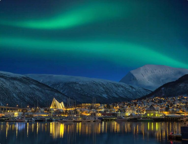 Tromso, Norway Northern Lights