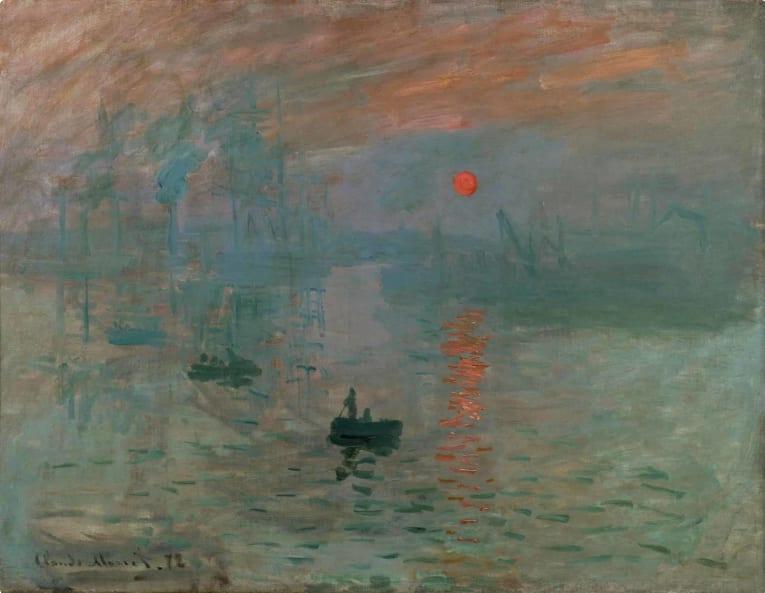 Monet - Impression, Sunrise