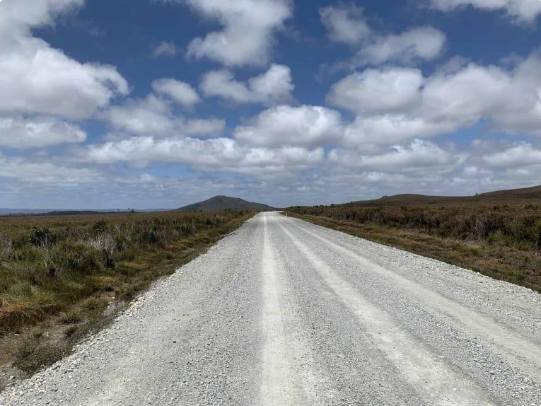 West Coast highway Tas
