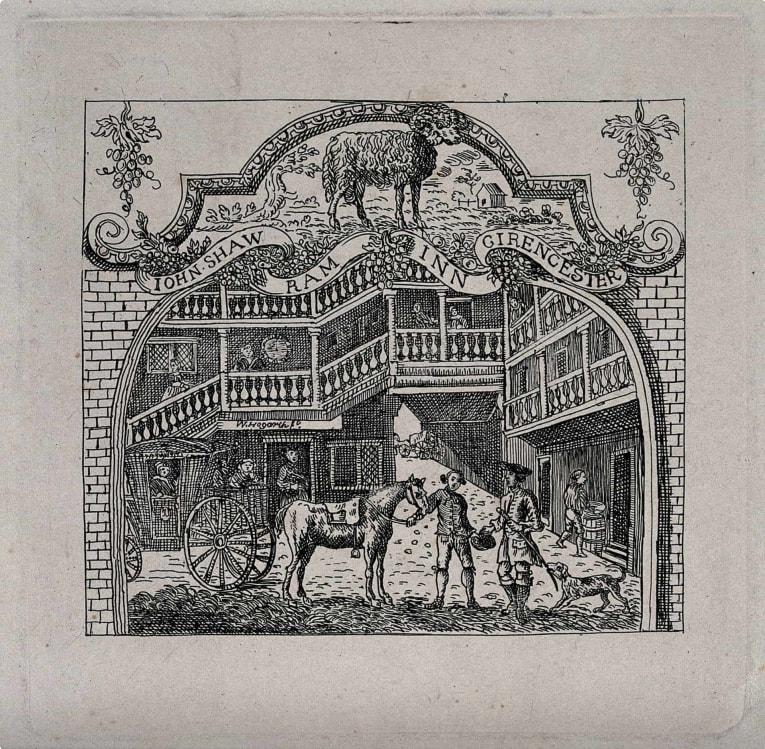 John Shaw's Ram Inn in Cirencester