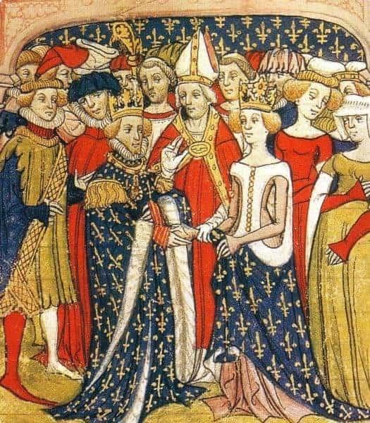 Late 14th century fashion