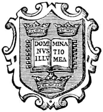 An early logo of the Oxford University Press