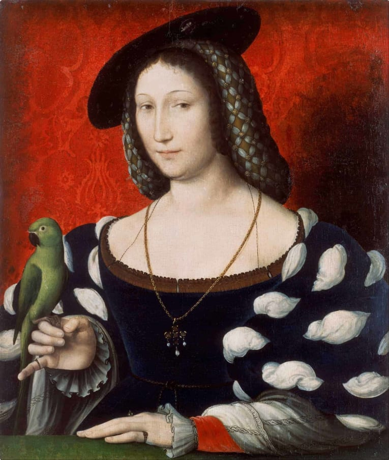 Jean_Clouet_(Attributed)_-_Portrait_of_Marguerite_of_Navarre_-_Google_Art_Project