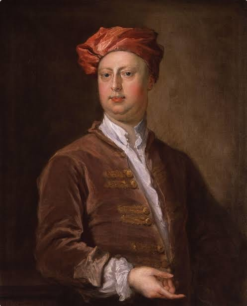 A painting of William Kent