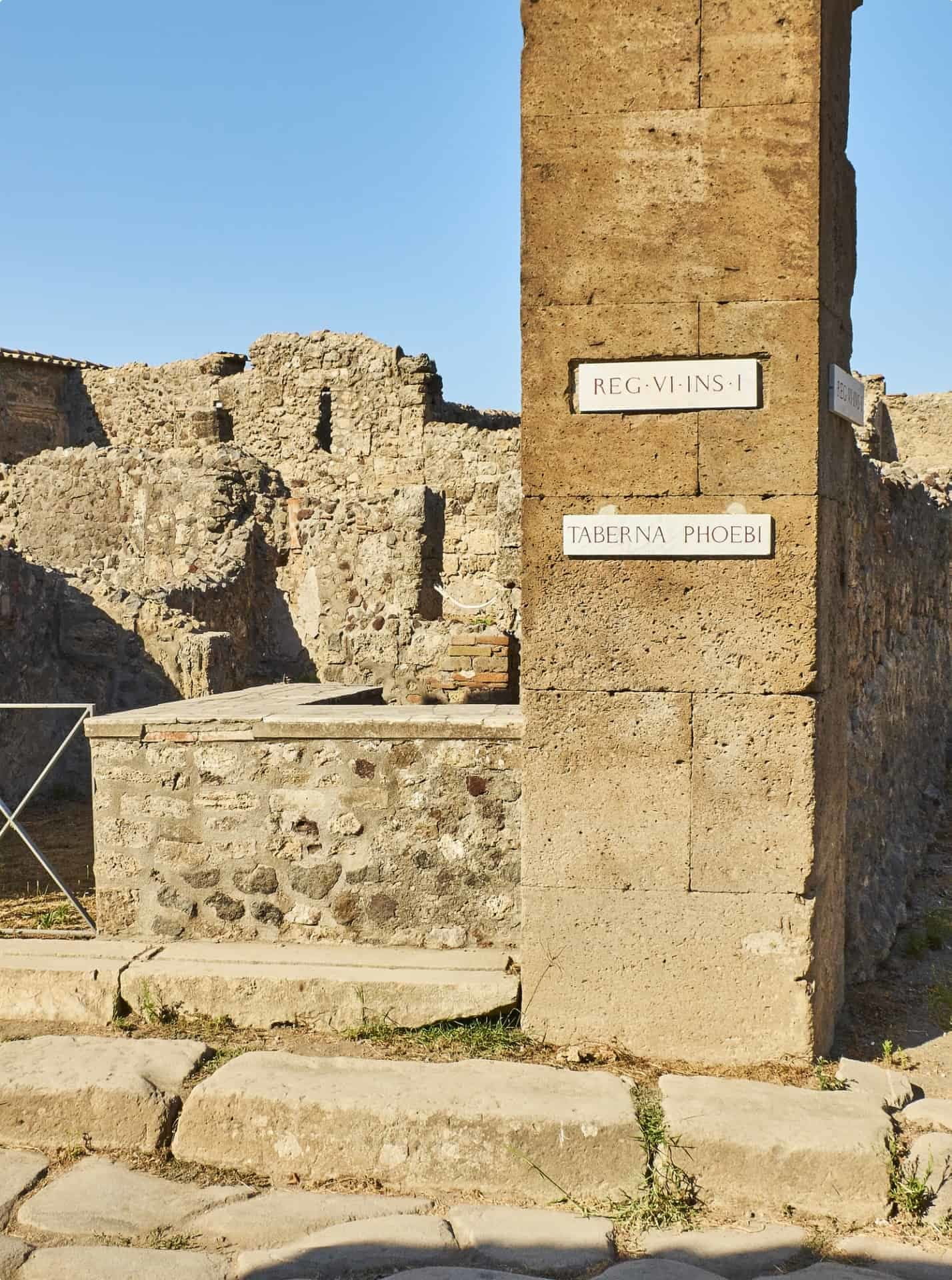 Taberna in Pompeii