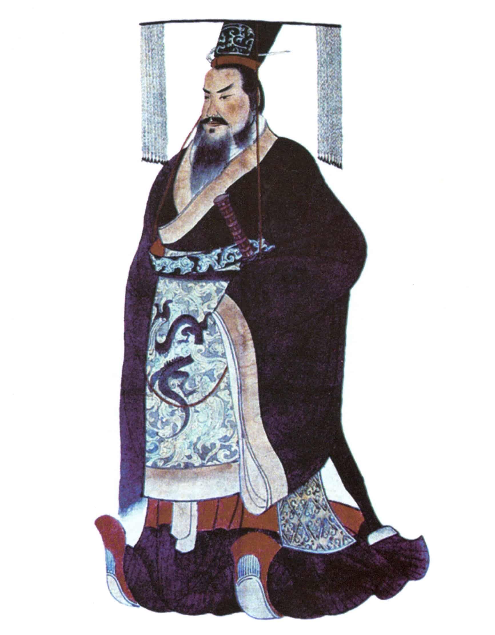 Emperor Qin Shi Huang of China