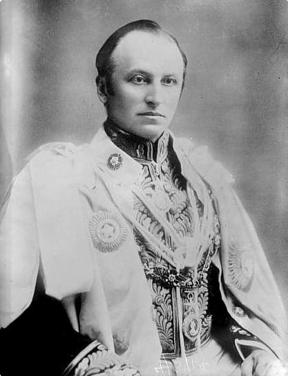 Lord Curzon, Chancellor of Oxford University, known for his dedication to reforming the university