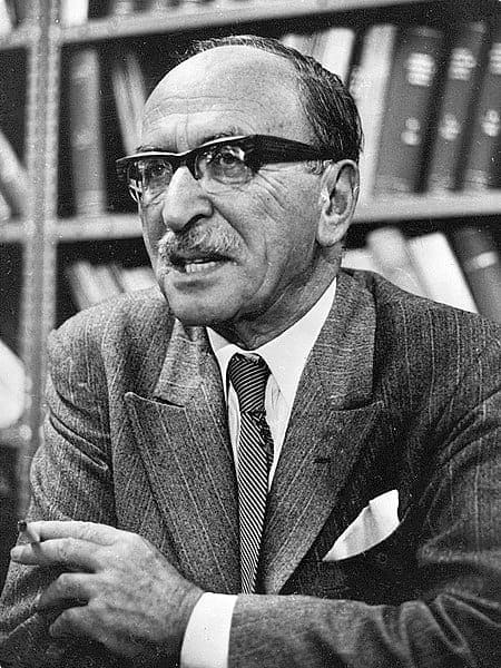 Dennis Gabor, a Hungarian physicist who won the Nobel Prize for his work in holography