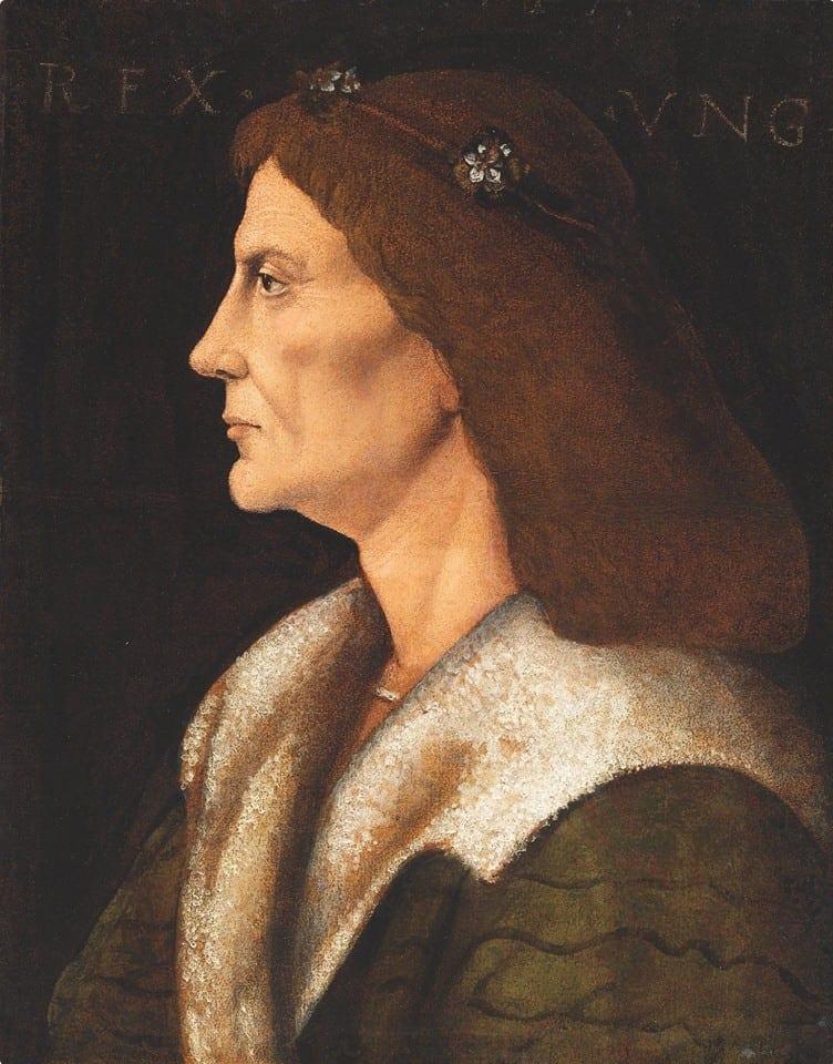 King Matthias Corvinus of Hungary