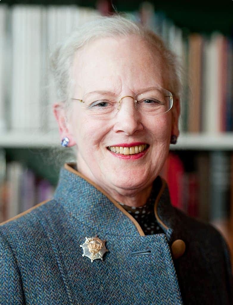 Queen Margrethe II, who lives at Amalienborg