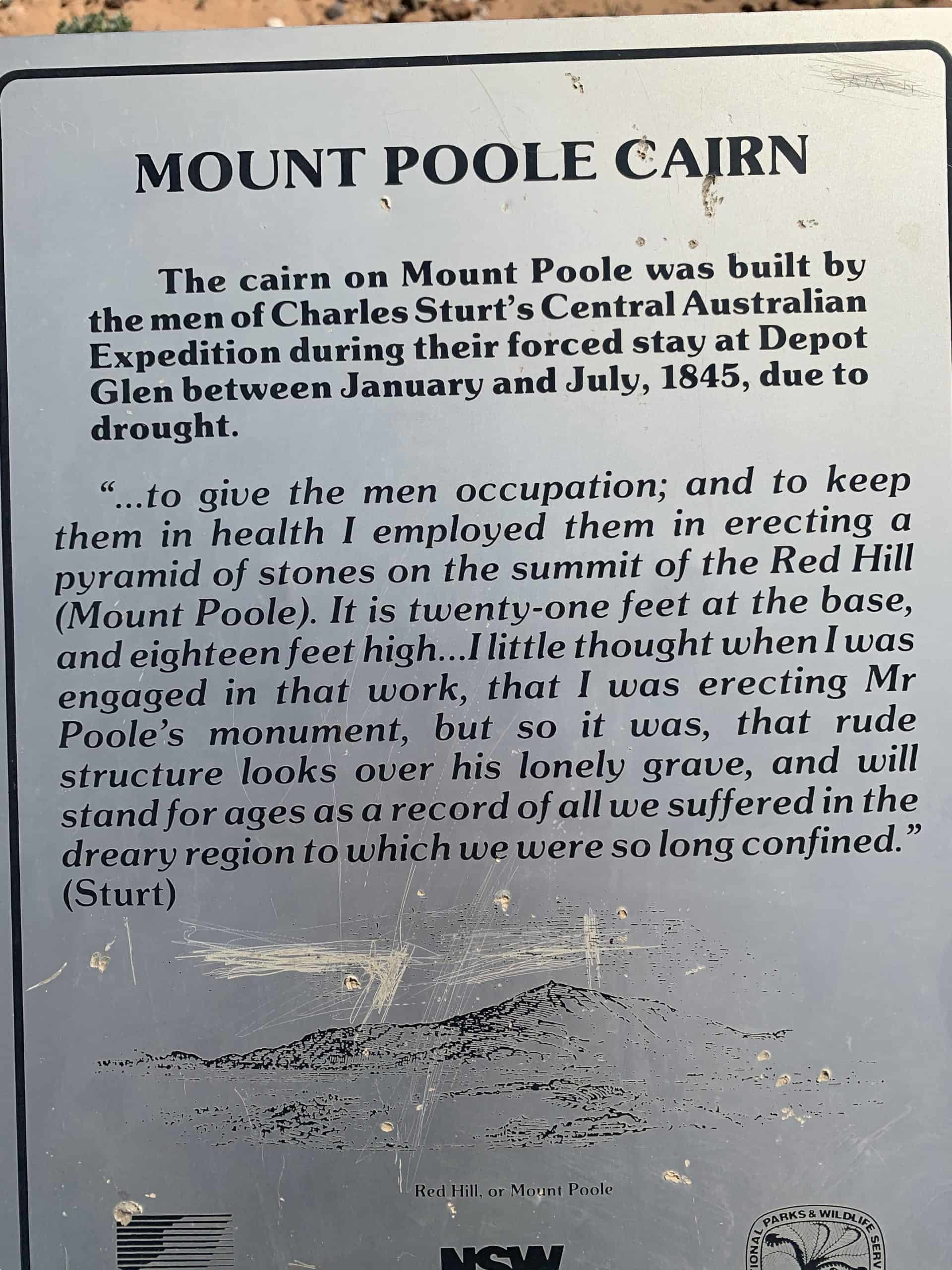 Mount Poole Cairn