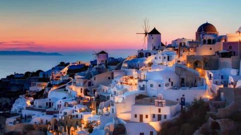 Santorini - Eastern Mediterranean Islands History small group tour