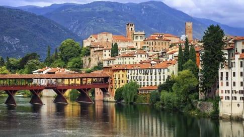 Italian Small Group Tours Bassano del Grapa Italy Veneto