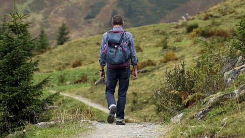Preparing for a walking holiday