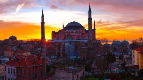 Small group escorted tours of Istanbul Turkey