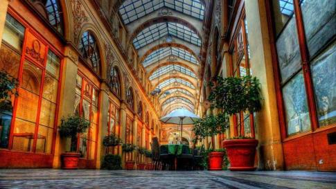 The Elegant Arcades of Paris