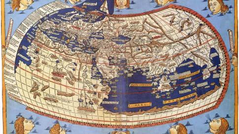 Venice - Ptolemy's map