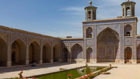 The Pink Mosque, Shiraz, Iran