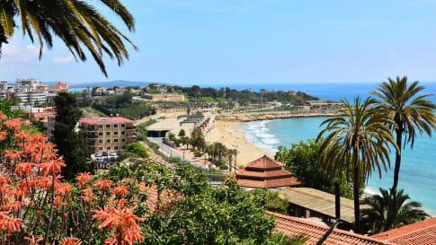 The seaside town of Tarragona