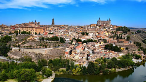 The view of Toledo