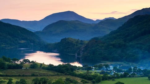 Snowdonia National Park Sunset