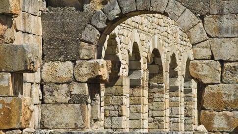The Roman Ruins of Volubilis, Morocco