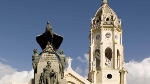 Plaza Bolivar, Casco Viejo, Panama City, Panama
