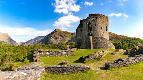 Dolbadarn Castle, Gwnedd, Wales