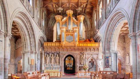 St. Davids Cathedral, Wales, UK