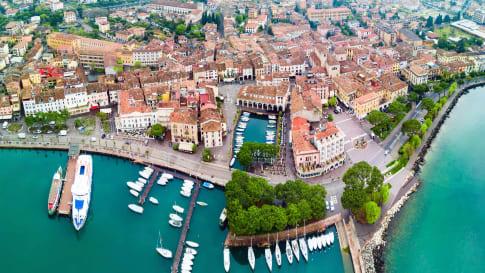 Desenzano del Garda aerial view