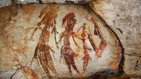 Gwion Gwion Rock Paintings (Bradshaw Art)