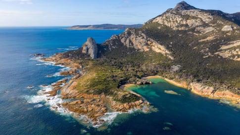 Coastline near Killiekrankie Flinders Island