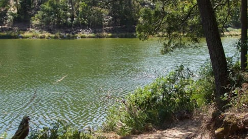 Lake Surprise in Budj Bim National Park.