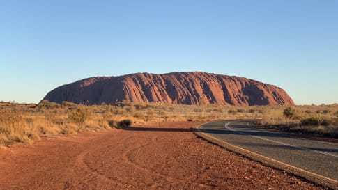 Exploring Alice Springs and Uluru-Kata Tjuta National park by Motorbike