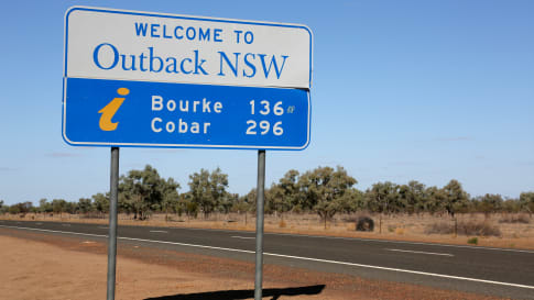 Cobar visited, New South Wales
