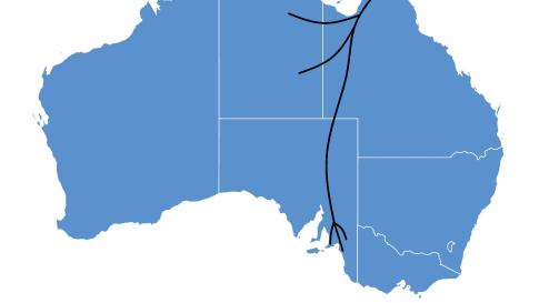 Key Aboriginal Trade Routes of Ancient Australia