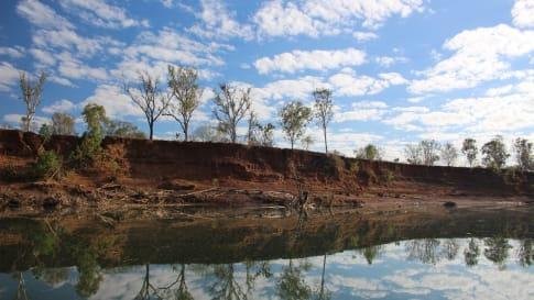 The Ord River, Western Australia