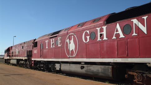 The Ghan Railway- a story for travellers