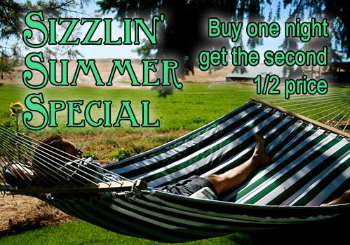 sizzin summer special