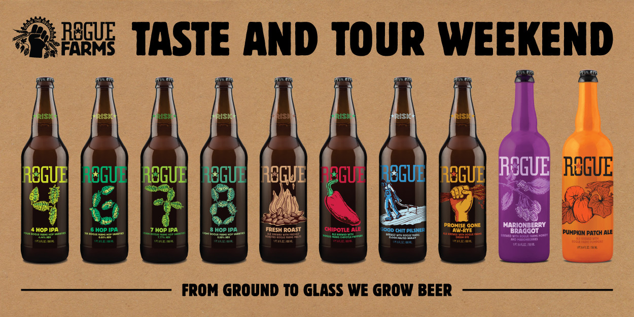 Rogue Farms Taste and Tour Weekend