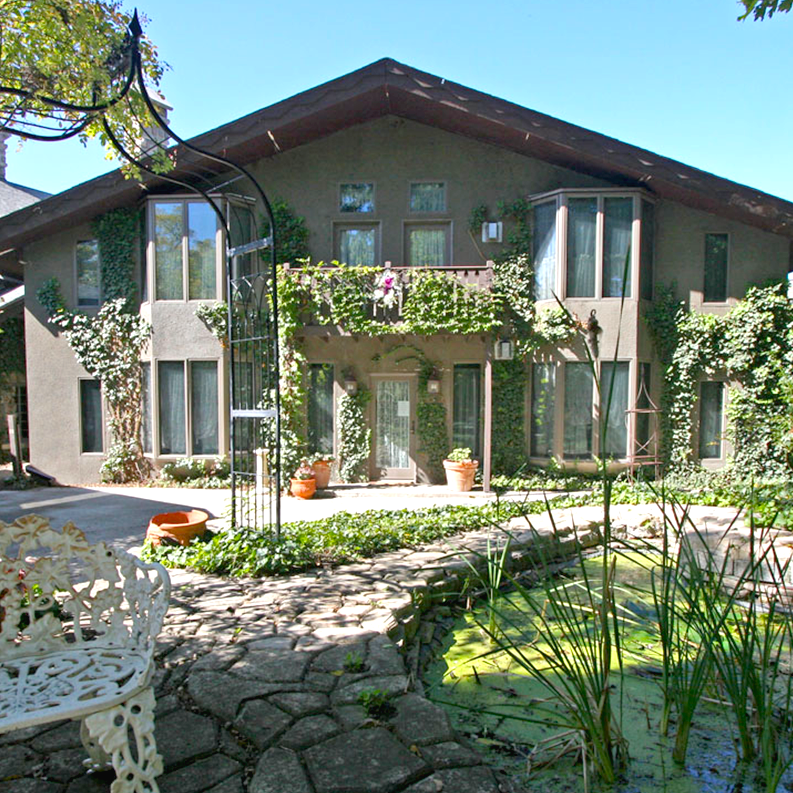 Chalet Nursery And Garden Center: Stone Chalet Ann Arbor